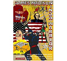 James Madison - Ninja Warrior! Photographic Print
