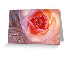 *** THINK PINK *** Greeting Card