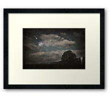 Nightfall in Middle-Earth Framed Print