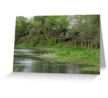 Remote Africa Greeting Card