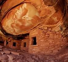 Roof Falling In Ruin by Bob Christopher