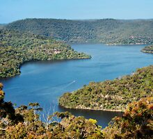 Berowra Waters seen from Colingridge Point by aurelie k