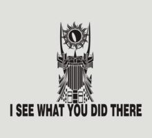 Sauron Sees You by ikaszans