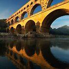 Pont du Gard by Mieke Boynton