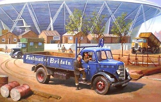 Bedford O type 1950. by Mike Jeffries