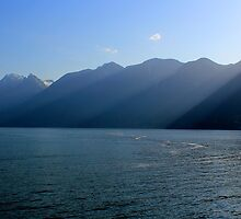 Hoseshoe Bay - Approaching the Mainland by rsangsterkelly