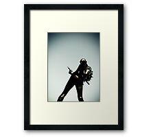 Ray Gun Zentai 2012 Set II Pic 12 Framed Print