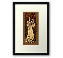 Theatre in Spacetime Framed Print