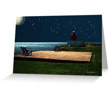 Ocean Oasis Greeting Card