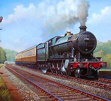 GWR 2.8.0 on Whiteball bank. by Mike Jeffries