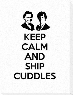 Keep Calm and Ship Cuddles by poisontao