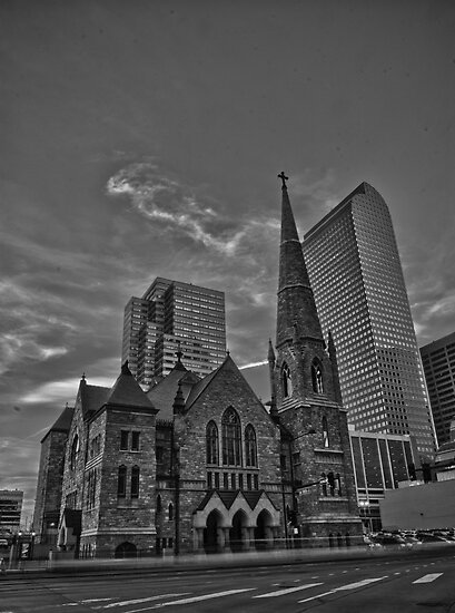 Trinity Methodist Church B/W by Adam Northam