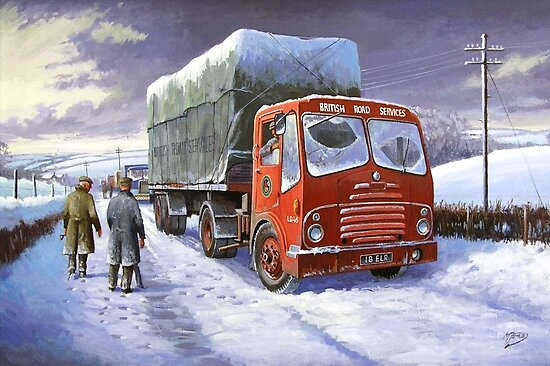 Bristol HA British Road Services by Mike Jeffries