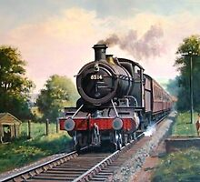 GWR 2.6.0 local passenger. by Mike Jeffries