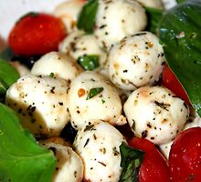 Cherry Tomato and Mozzarella Salad by Henrik Lehnerer