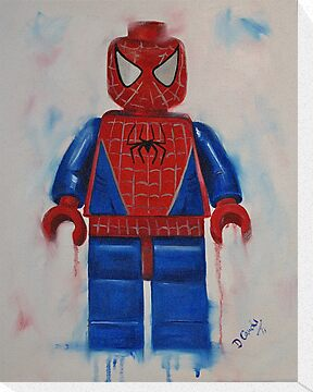 lego Spiderman by Deborah Cauchi