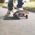 Skateboarder by Paisleypatches