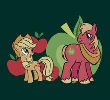 Big Macintosh And Apple Jack by Clinkz