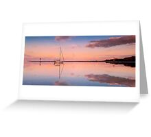 A Piece of Tranquility Shornecliffe Brisbane Greeting Card