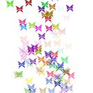 Rainbow butterflies by AHakir