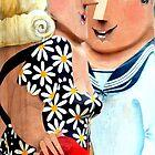 Hello Sailor - Geelong Bollards by bekyimage