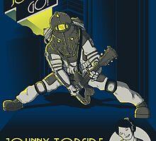 Rock Daddy - encore Art Prints by monochromefrog