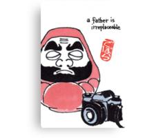 The Photographer (Daruma Doll Series) Canvas Print