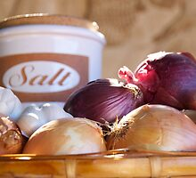 Salt & Onions by KarenEaton