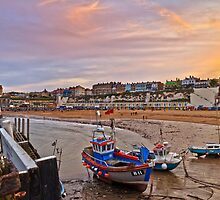 The lights are coming on at Broadstairs by Geoff Carpenter