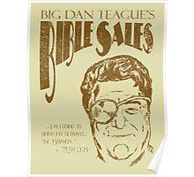 Big Dan's Bible Sales Poster