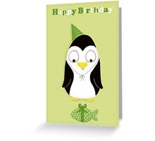 Cute Creatures (Penguin) Greeting Card