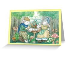 MUSHROOM TEA Greeting Card