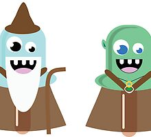 Lord of the Ring Popsicles.  by A'me Torres