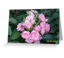 Original Bouquet Greeting Card