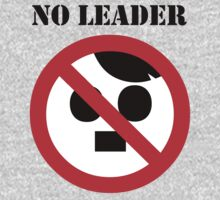 NO LEADER - with black script by Bela-Manson