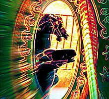Horseys Through The Looking Glass by Jean Gregory  Evans