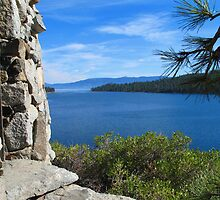 Emerald Bay, Lake Tahoe by Dianne Phelps