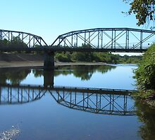 Memorial Bridge, Healdsburg by MsFit1958
