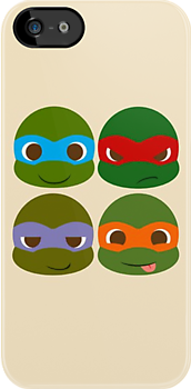 Teenage Mutant Ninja Turtles by Melissa Ellen