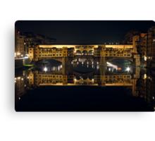 Ponte Vecchio by Night Canvas Print