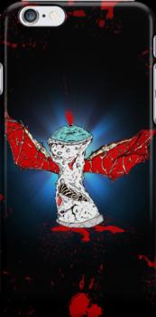 Winged Battle-Damaged Spray Can by rymestudios