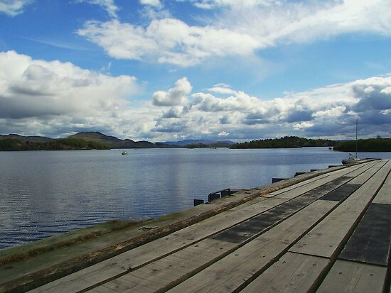 The Calm of Loch Lomond, Scotland by trish725