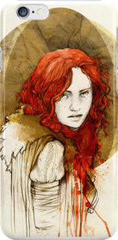Ygritte_iPhone case by Elia Mervi