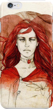 Melisandre_iPhone case by Elia Mervi