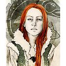 Catelyn Tully_iPhone case by Elia Mervi