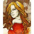 Cersei Lannister_iPhone case by Elia Mervi