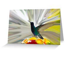 Hummingbird Series VII Greeting Card