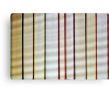 A Row of Books Canvas Print