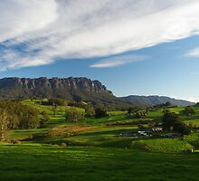 Mt Roland in the afternoon by Greg Eyre