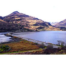 Skye to Loch Ness Photographic Print